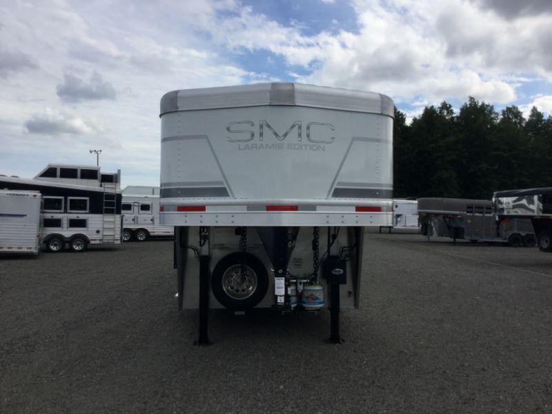2019 4 HORSE SMC GOOSENECK LIVING QUARTERS HORSE TRAILER