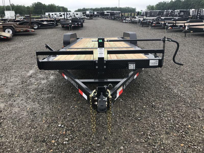 2019 7X22 NORSTAR BUMPER PULL EQUIPMENT TRAILER
