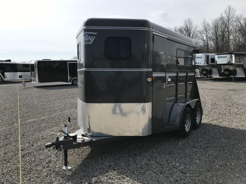 2020 2 HORSE VALLEY BUMPER PULL HORSE TRAILER