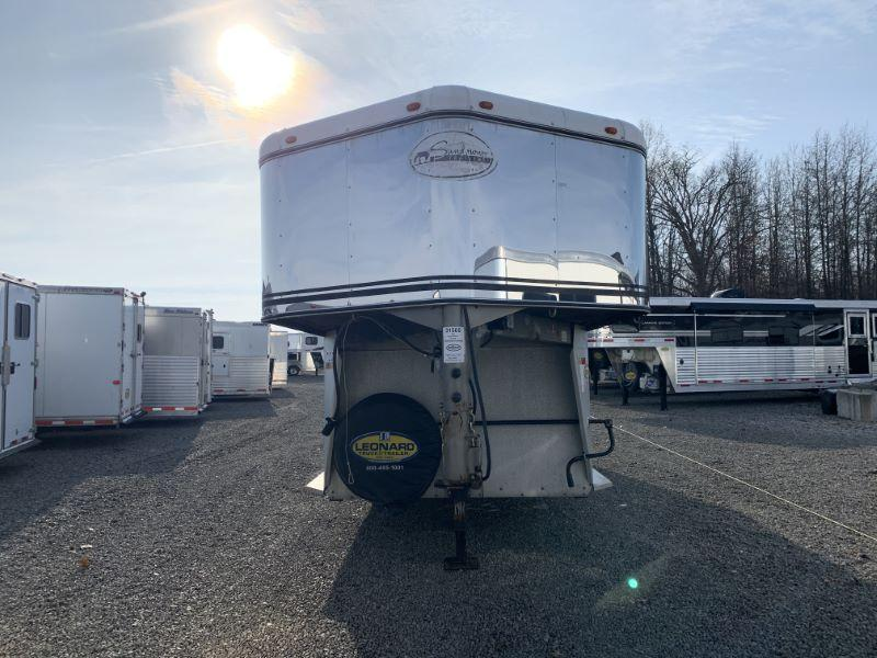 2002 4 HORSE SUNDOWNER GOOSENECK W/DRESS HORSE TRAILER