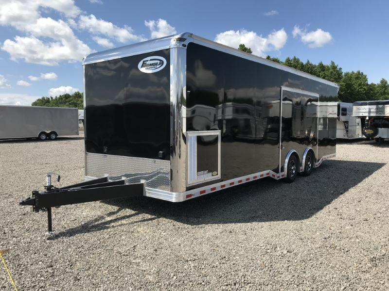 2020 8.5X28 FORMULA BUMPER PULL ENCLOSED CAR TRAILER