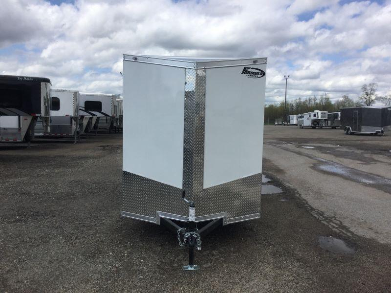 2020 6x12 FORMULA BUMPER PULL ENCLOSED CARGO TRAILER