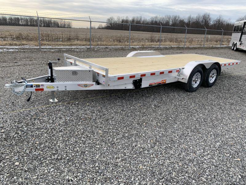 2020 6 X 20 H&H BUMPER PULL OPEN CAR TRAILER