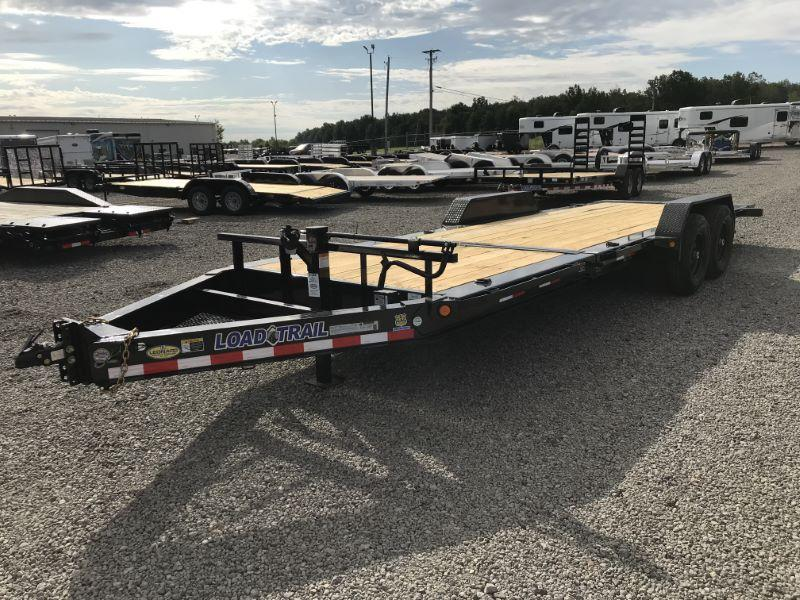 2020 7X22 LOAD TRAIL BUMPER PULL EQUIPMENT TRAILER