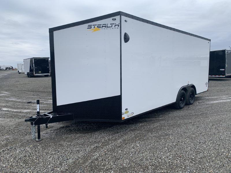 2020 8.5X20 STEALTH BUMPER PULL ENCLOSED CAR TRAILER