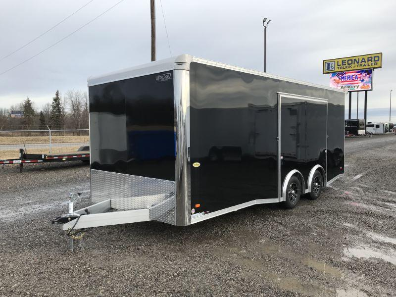 2020 8.5X22 BRAVO BUMPER PULL ENCLOSED CAR TRAILER