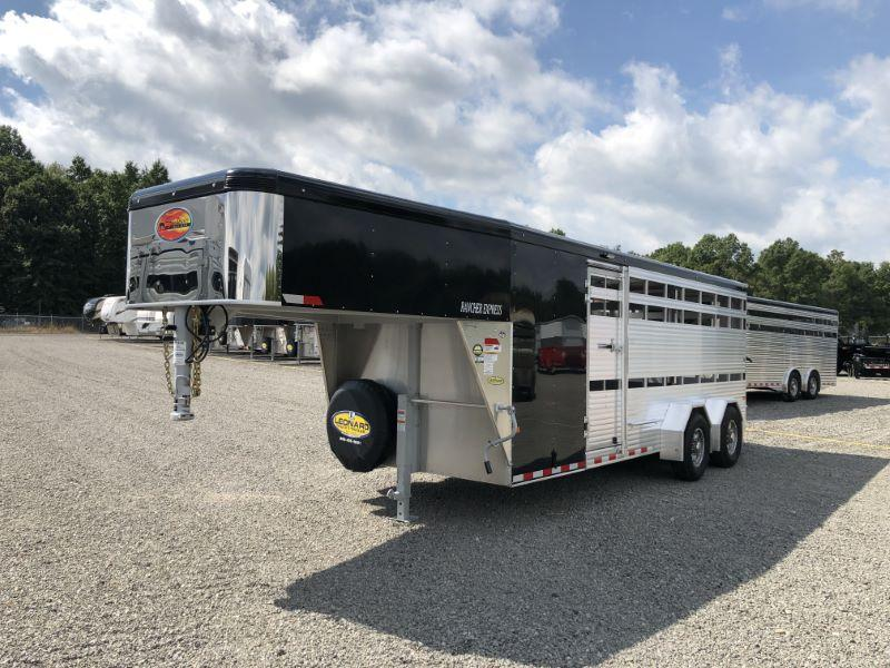 2019 7X20 SUNDOWNER GOOSENECK STOCK TRAILER