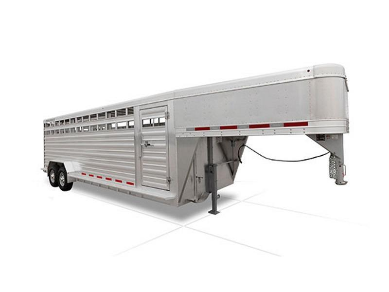 "2018 Featherlite Trailers 20' 8127 7'6"" w/ 1 gate"
