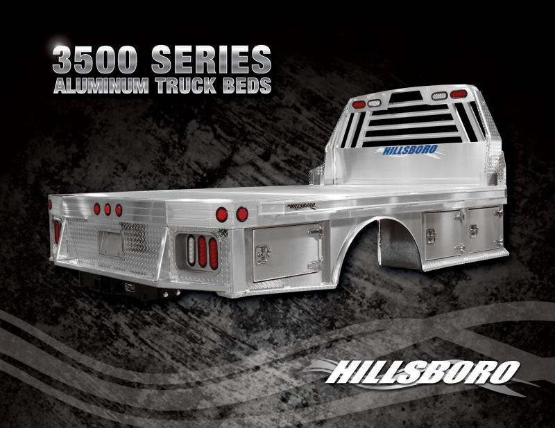 2019 Hillsboro Industries 3500 Series Truck Bed