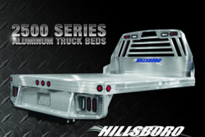 2018 Hillsboro 2500 Series Aluminum Truck Beds