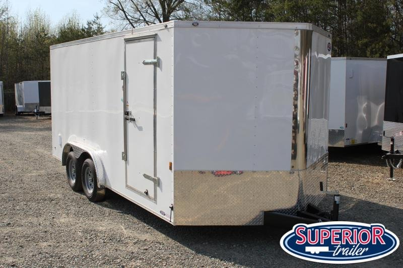 2021 Continental Cargo 8x16 w/ Ramp Door