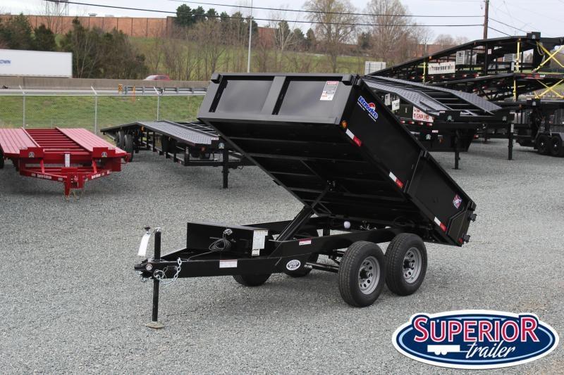 2020 Hawke 6X10 10K Deck Over Dump