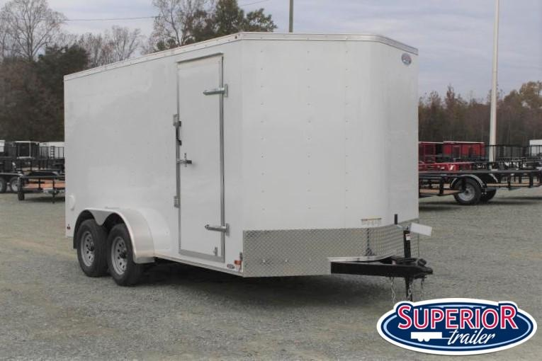 20120 Haulmark Passport 7x14 w/ Ramp Door