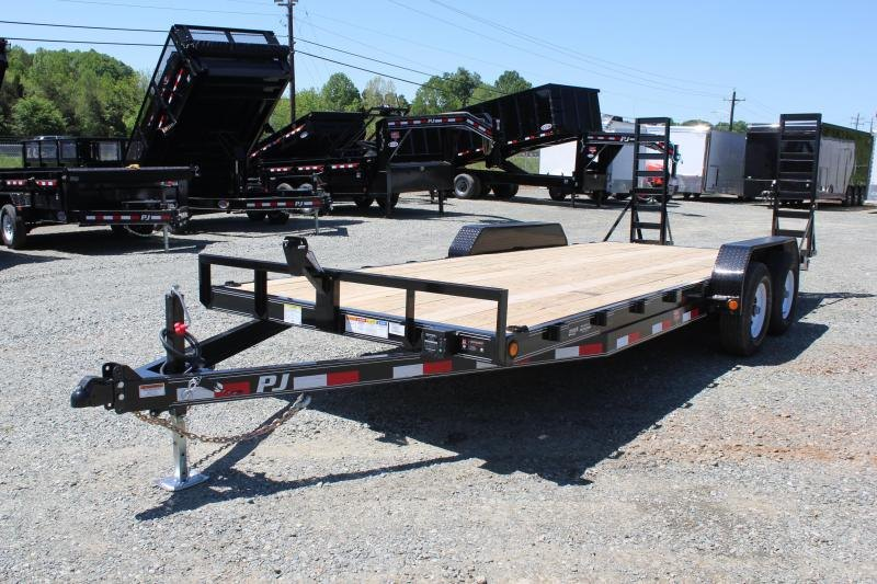 2019 PJ Trailers 20' CE 10K w/ Fold Up Ramps