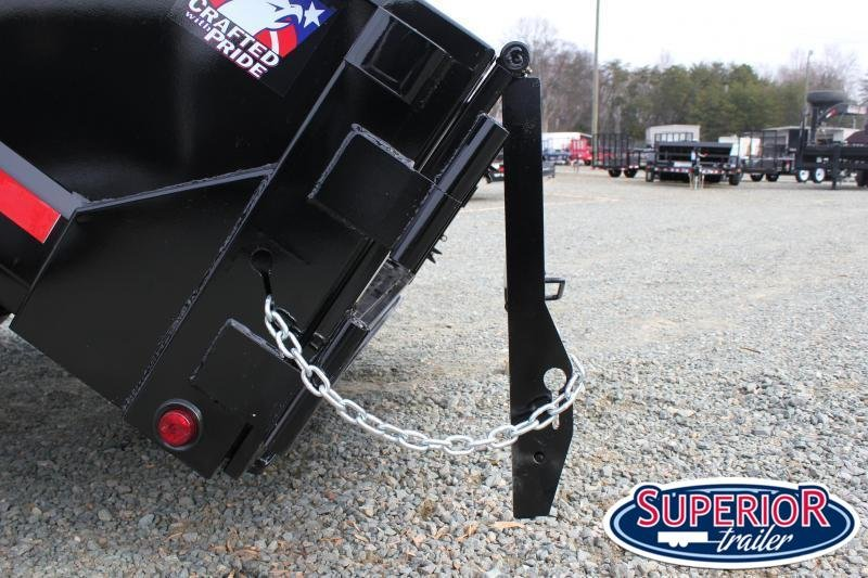 2019 Hawke 7x12 12K Dump w/ Spreader Gate Ramps and Tarp