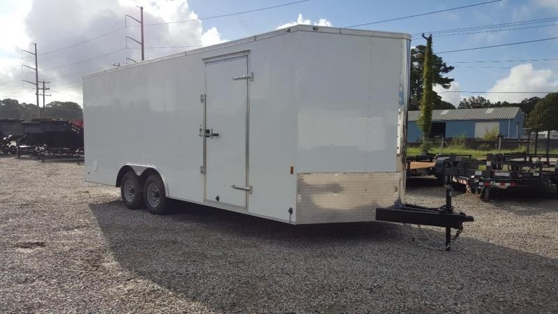 2020 Continental Cargo 8.5X20 10K w/Ramp Door