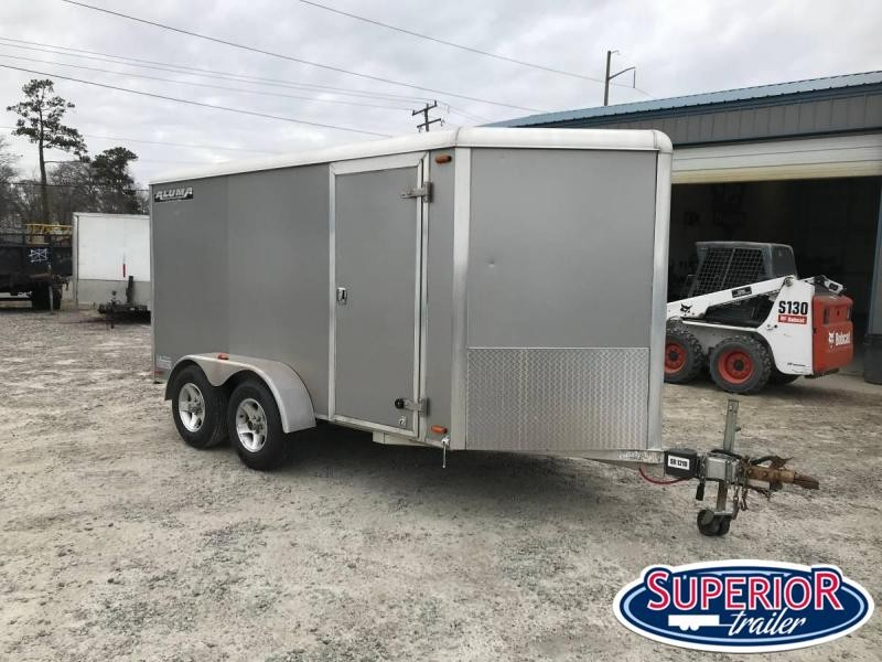 2008 Aluma Used 7x14 Aluma LTD Enclosed Cargo Trailer