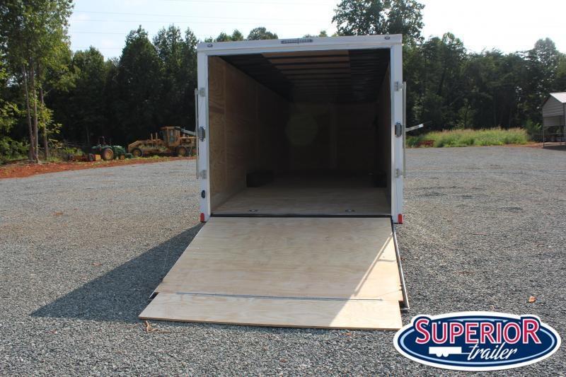 2021 Continental Cargo 8.5X28 10K w/ Ramp Door
