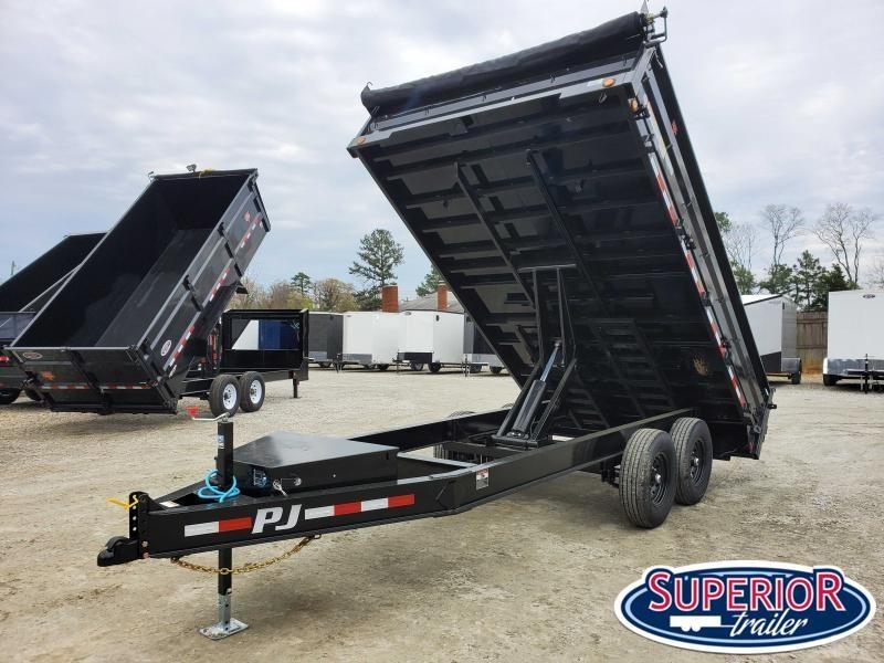 2020 PJ Trailers 7x14 D8 14K Dump