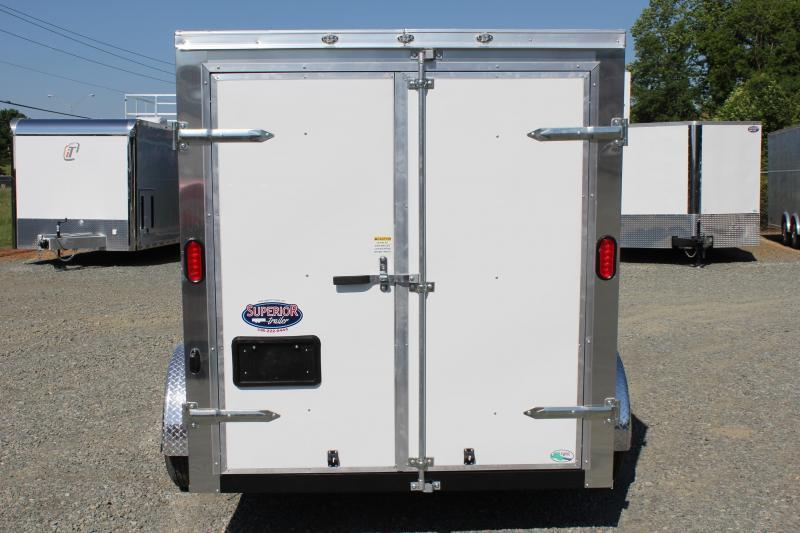 2020 Continental Cargo 6x10 Special w/ Double Rear Door