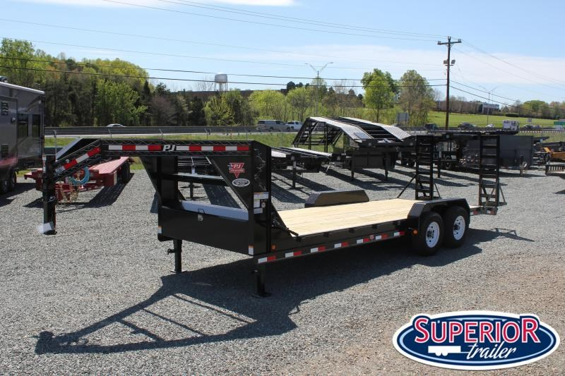 2020 PJ Trailers 22' CC 14K w/ Tongue Box