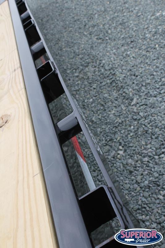 2020 PJ Trailers 24 F8 14K Deckover w/ Slide In Ramps