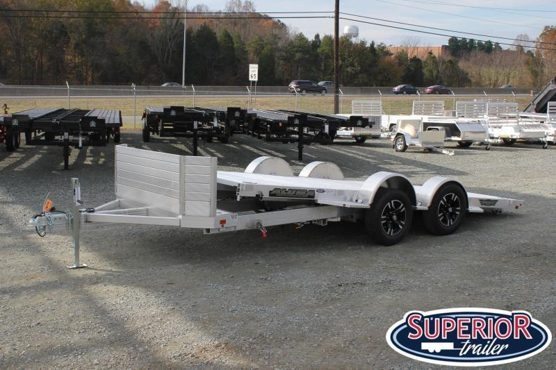 2020 Aluma 8216 Low Clearance Tilt Trailer w/ Rock Guard