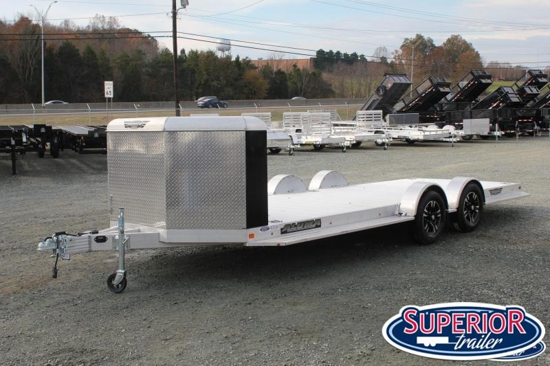 2020 Aluma 8220-XL Car Trailer w/ Front Box