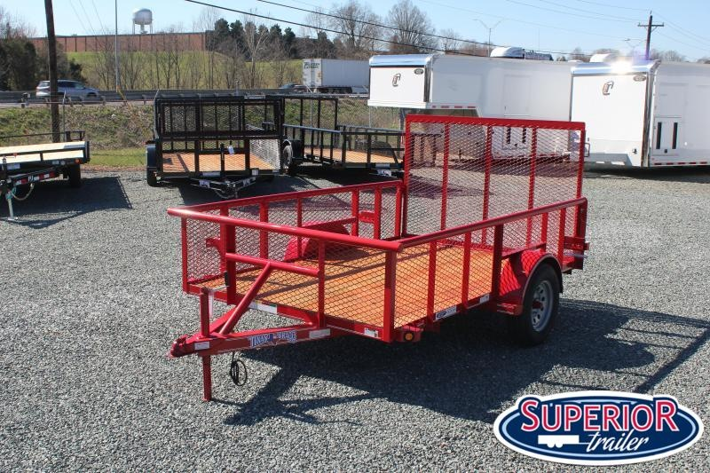 2020 Texas Bragg 6x10P w/ 2ft Expanded Sides and Gate