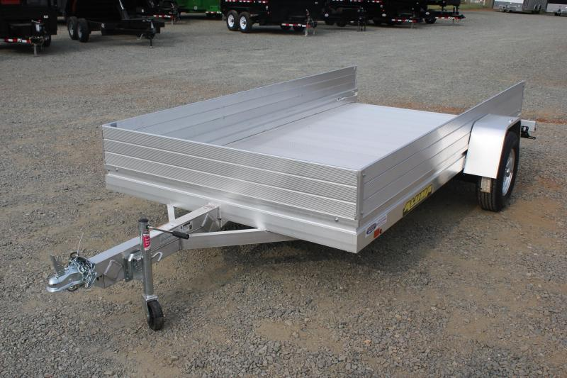 "2020 Aluma 7212HSLR w/ 12"" Sides and Slide Out Ramp"