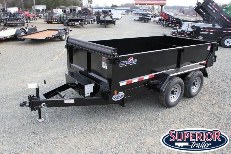 2020 Hawke 6x12 10K Dump w/ Spreader Gate Ramps and Tarp
