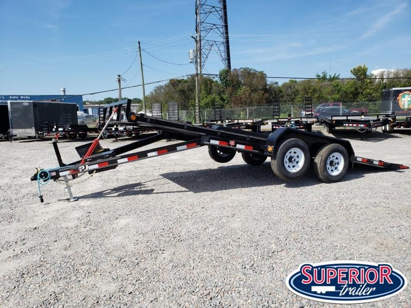 2019 PJ Trailers 20' TH 10K Car/Racing Tilt Trailer