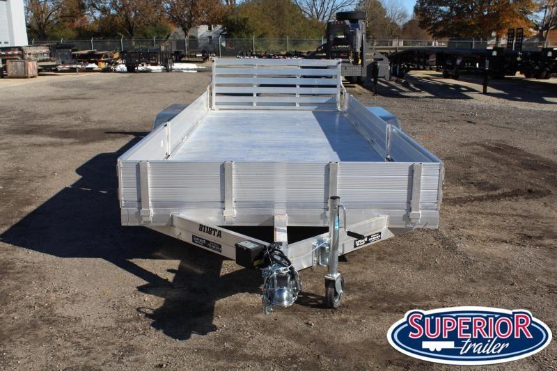 2020 Aluma 8118TA w/ Solid Sides and Bi Fold Gate