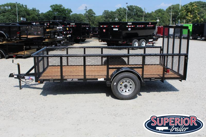 2019 Texas Bragg Trailers 6x12P 2ft Expanded Sides w/ Gate