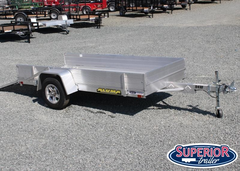 """2020 Aluma 5410 LW w/ Tailgate and 12"""" Solid Sides"""