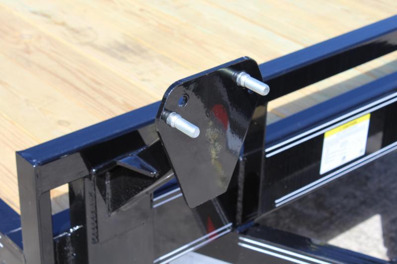 2019 PJ Trailers 20' CC 14K Equipment Trailer w/Slide In Ramps
