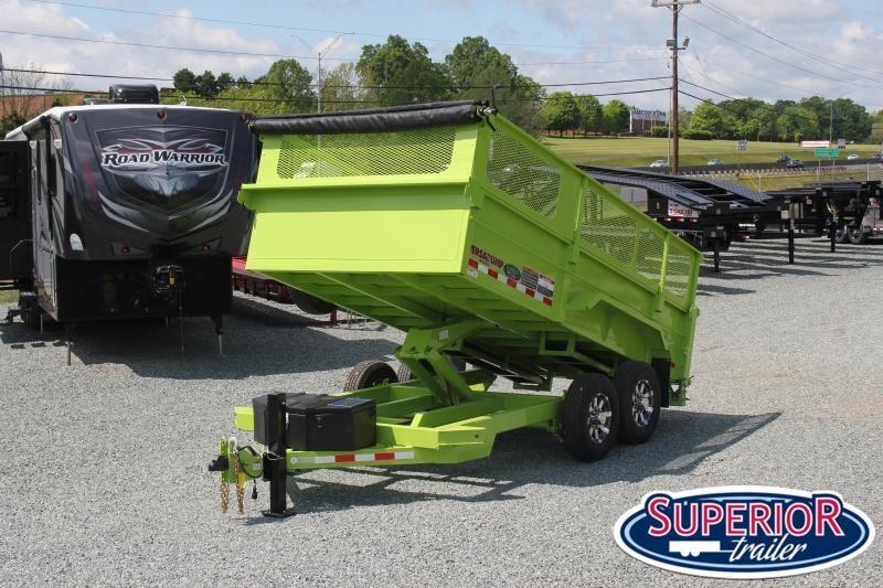 2020 Midsota HV-14 7x14 Tandem Axle Dump Trailer