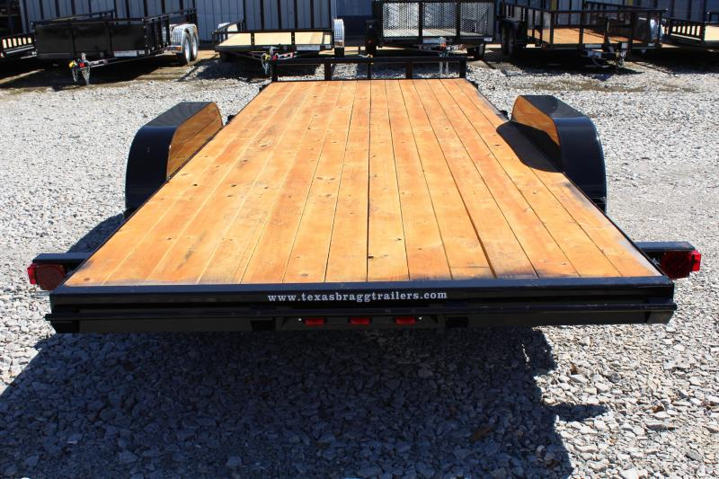2019 Texas Bragg 20HCH Car Trailer w/ Ramps