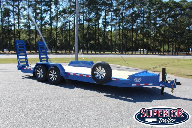 2020 Midsota ST-20 Equipment Trailer w/ Fold up Ramps