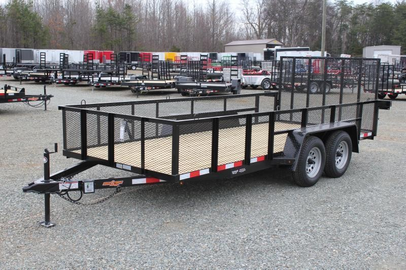 2019 Down 2 Earth 16ft w/ 2ft Expanded Sides and Gate