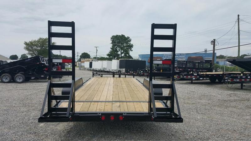 2020 PJ Trailers 20' CC 14K Equipment Trailer w/ Fold Up Ramps
