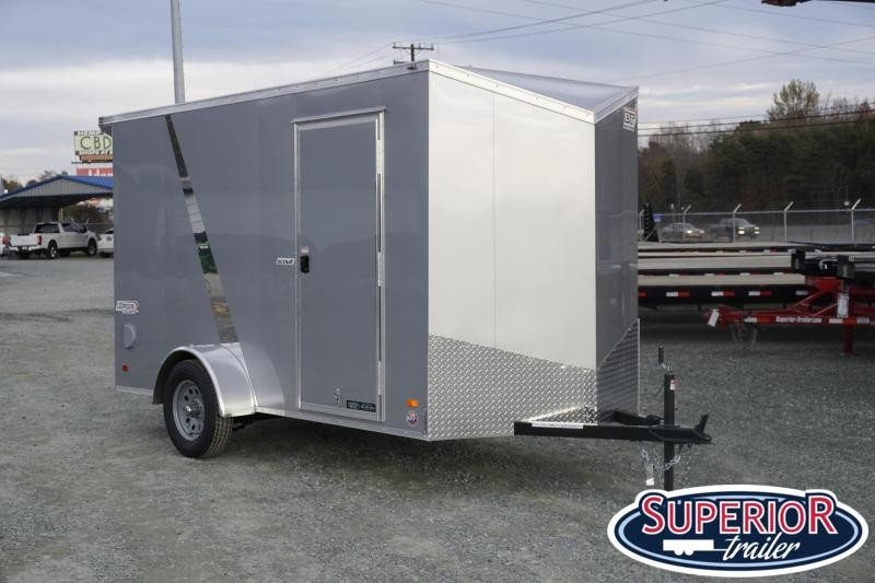 """2020 Bravo Scout 6x12 w/ 6"""" Extra Height and Ramp"""