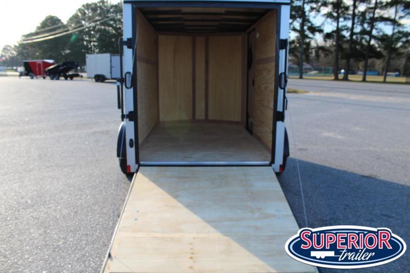 2021 Continental Cargo 6X10 w/ Ramp Door
