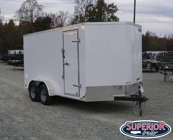 2020 Haulmark Passport 7x14 w/ Double Rear Doors