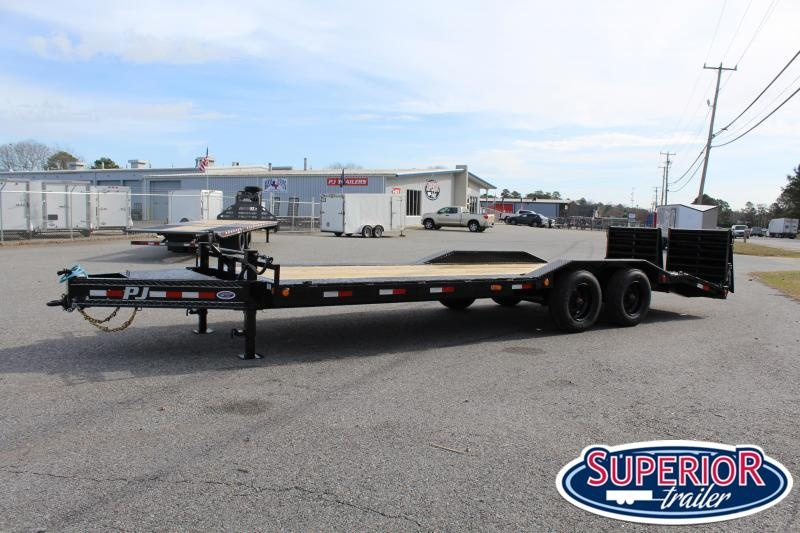 2020 PJ Trailers 24ft H7 20K w/ Monster Ramps