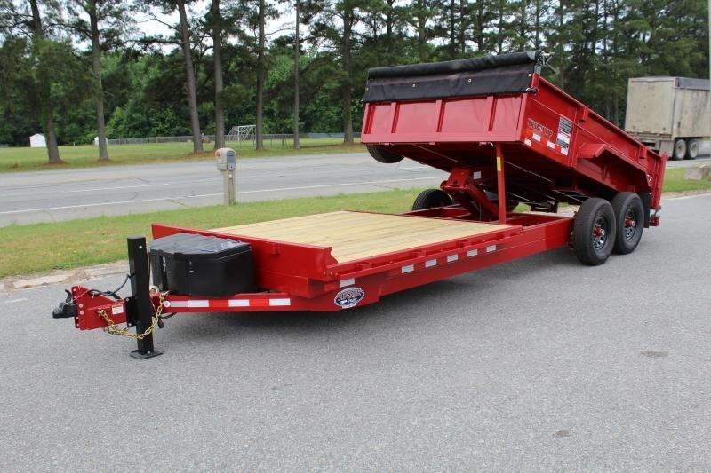 2019 Midsota 20ft Combo 14K Dump w/ 8ft Front  Deck