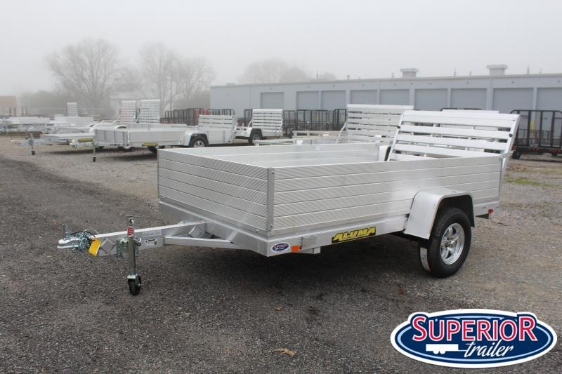 """2020 Aluma 6810H w/ 24"""" Solid Sides and Tailgate"""