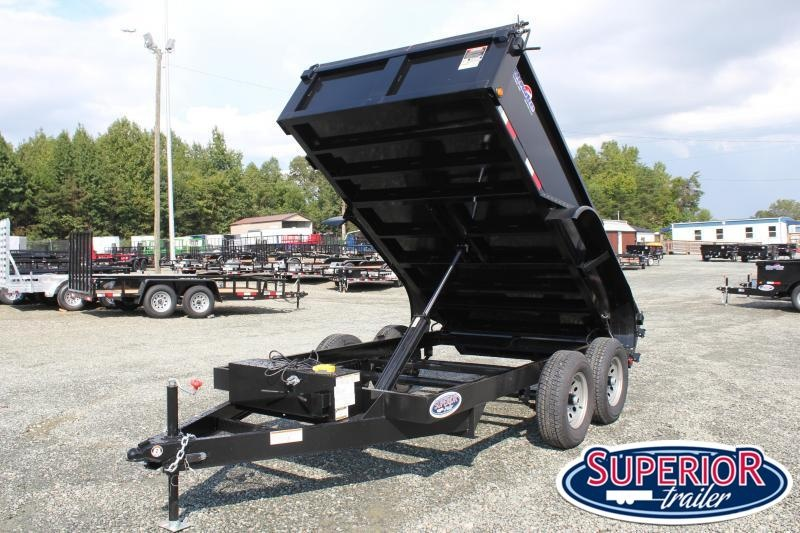 2020 Hawke 6X12 10K Dump w/ Tarp