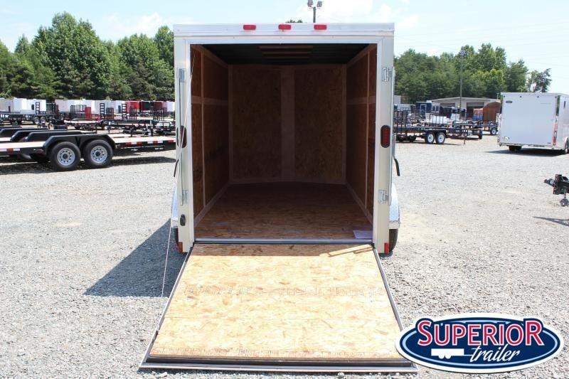 2021 Continental Cargo 6x12 Special w/ Ramp Door
