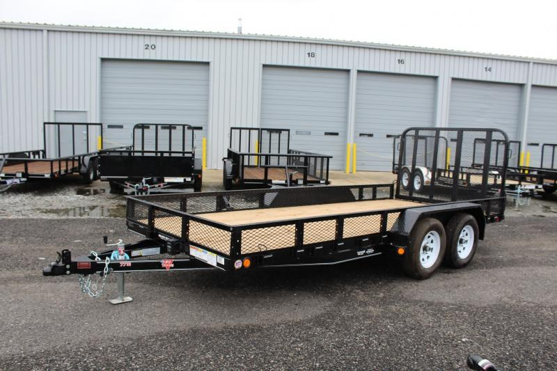 2020 PJ Trailers 16' UK 7K Utility Trailer